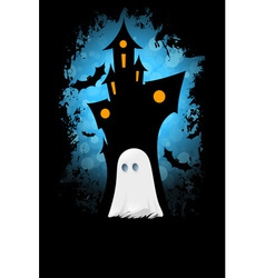Grungy Halloween Card vector