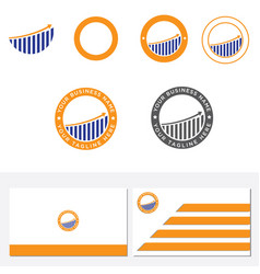 logo symbol of a business company in the form of vector image