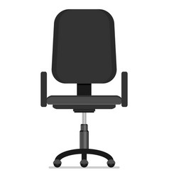 office chair flat vector image