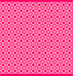 Pink tile pattern for seamless wallpaper vector