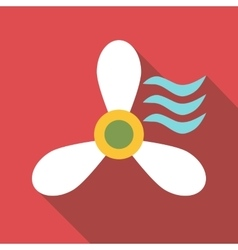 Propeller icon flat style vector image