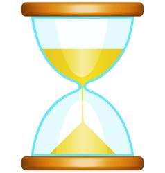 Sand glass vector