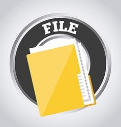 storage icon vector image