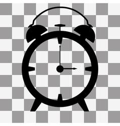 Alarm clock icon on transparent vector image vector image