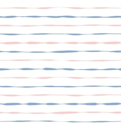 Seamless background grunge pink and blue stripes vector image vector image