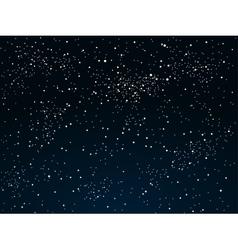 Background starry night sky eps 10 vector