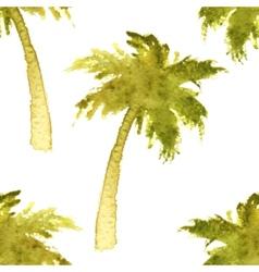 palm tree seamless vector image