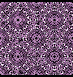 Abstract bohemian lavender floral pattern vector