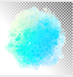 Abstract watercolor splash vector
