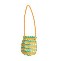 hippie bag fashion vector image