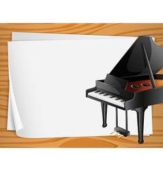 Piano Banner vector