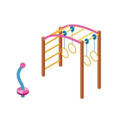 Playground isometric vector