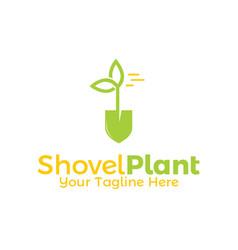 Shovel plant vector