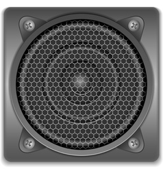 Sound Speaker Icon vector image vector image