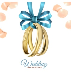 Wedding Realistic Background vector