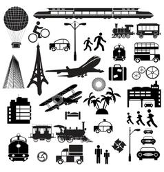 Journey vector image vector image