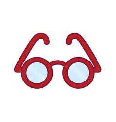 glasses icon imag vector image