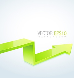 3d arrow design vector