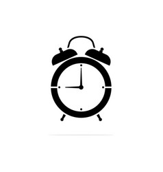 alarm clock icon concept for design vector image