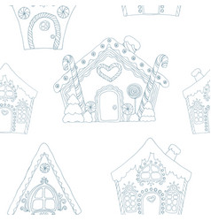 Christmas coloring pages pattern vector