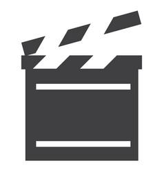 cinema flap icon vector image