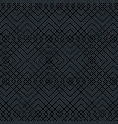 Geometrics figures in grey pattern vector