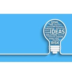 Innovate bulb vector