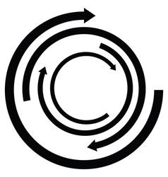 Isolated arrow icon vector