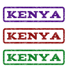 Kenya watermark stamp vector