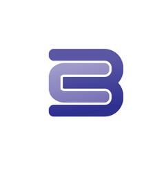 Lette cb logo vector