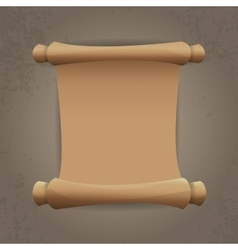 Old Scroll paper vintage paper vector image