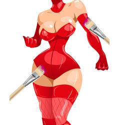 Sexy body 02 vector