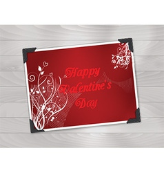 Valentines day photo background 1612 vector