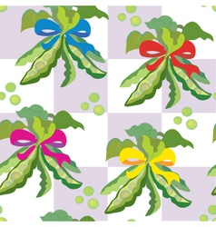 bean wallpaper vector image vector image