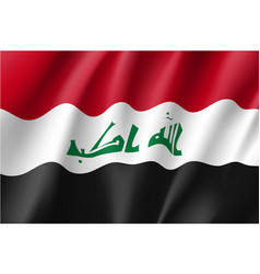 Iraq national flag vector