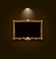thai art frame border pattern vector image vector image