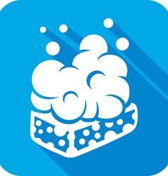Wet Soap Icon vector image vector image