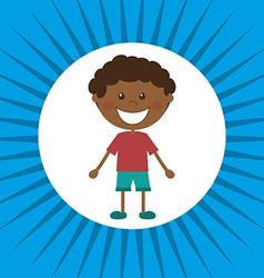 child design vector image vector image