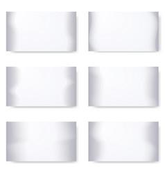 halftone design elements vector image