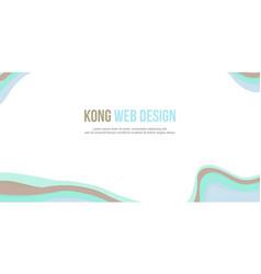 Abstract background header website design modern vector