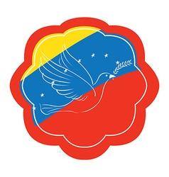 Conceptual peace vector image