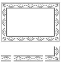 Deco frame vector