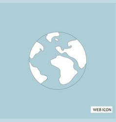 globe icon globe icon eps10 globe icon globe vector image