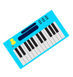 Isolated keyboard instrument vector