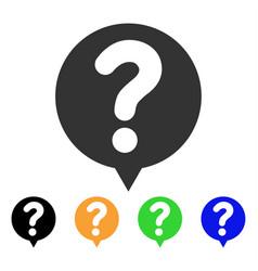 Status balloon icon vector