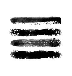 Watercolor torchon lite brushes set vector