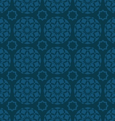 Arabic oriental seamless pattern traditional vector image