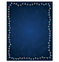 holiday christmas light background vector image vector image