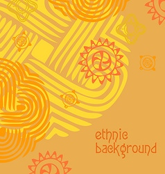 ethnic background vector image