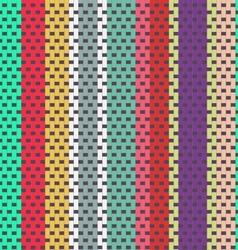Seamless weaving pattern vector